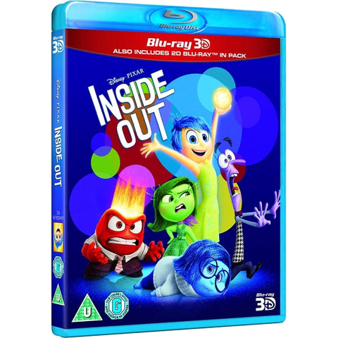 Disney Pixar Inside Out [3D + 2D Blu-Ray]