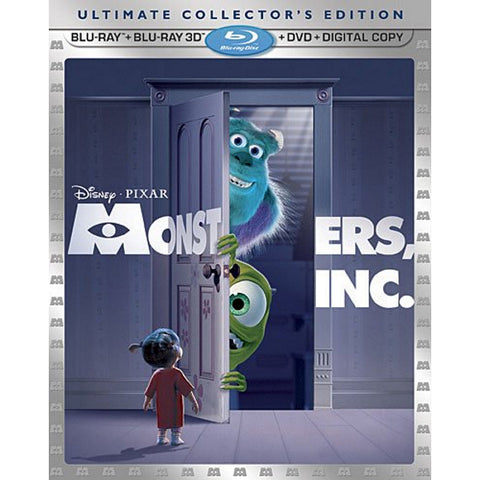Disney Pixar Monsters, Inc. - Ultimate Collector's Edition [3D + 2D Blu-ray + DVD +  Digital]