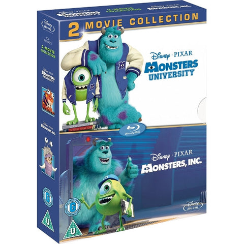 Disney Pixar Monsters University and Monsters, Inc. [Blu-Ray 2-Movie Collection]