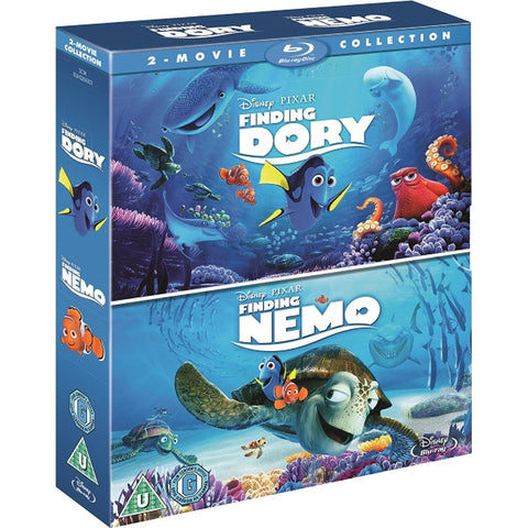Disney Pixar Finding Dory / Finding Nemo [Blu-Ray 2-Movie Collection]