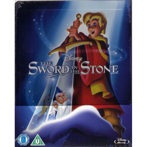 Disney's The Sword in the Stone - Limited Edition SteelBook [Blu-ray]