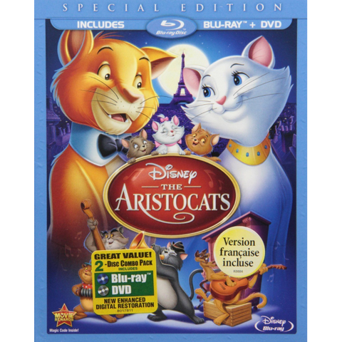 Disney's The Aristocats - Special Edition [Blu-ray + DVD]
