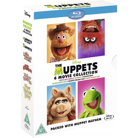 Disney's Muppets: 6-Movie Collection [Blu-Ray Box Set]