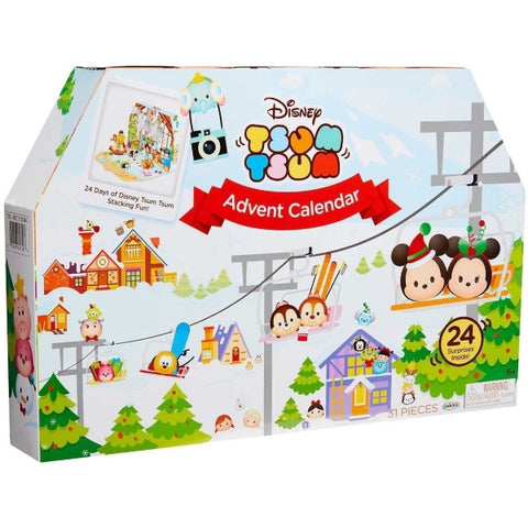 Disney Tsum Tsum Holiday Countdown Advent Christmas Calendar - 2017 Edition [Toys, Ages 6+]