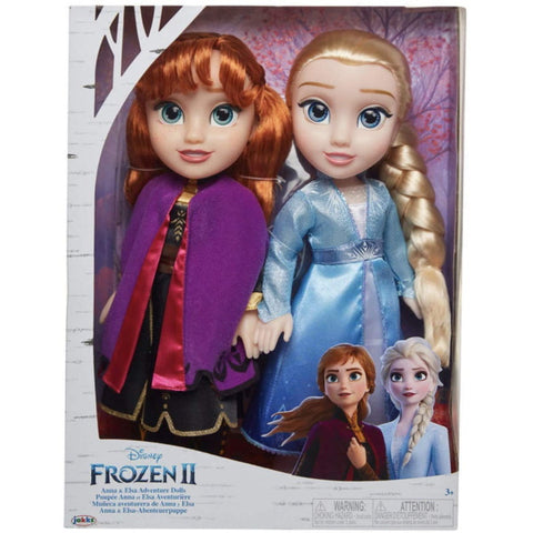 Disney Frozen 2 Anna & Elsa Adventure Dolls [Toys, Ages 3+]