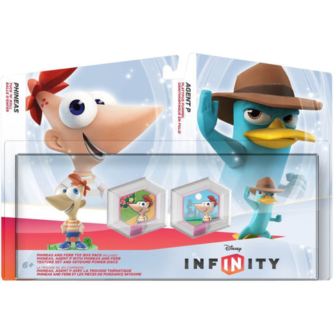 Disney Infinity 1.0: Phineas & Ferb Toy Box Pack [Cross-Platform Accessory]