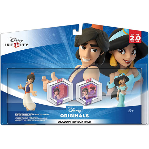 Disney Infinity 2.0: Disney Originals Aladdin Toy Box Pack [Cross-Platform Accessory]