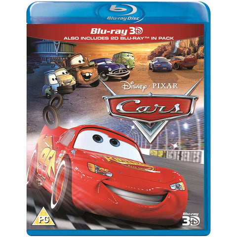 Disney Pixar's Cars [3D + 2D Blu-ray]