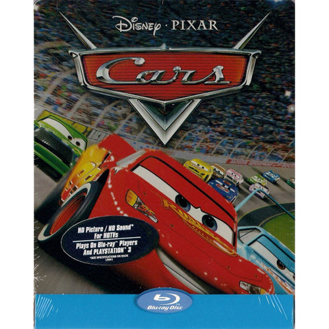 Disney Pixar's Cars - Limited Edition SteelBook [Blu-ray]