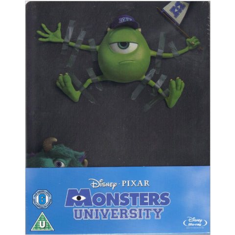 Disney Pixar's Monsters University - Limited Edition SteelBook [Blu-ray]