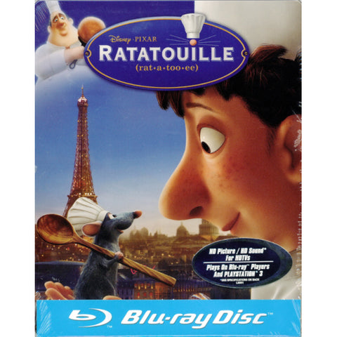 Disney Pixar's Ratatouille - Limited Edition SteelBook [Blu-ray]