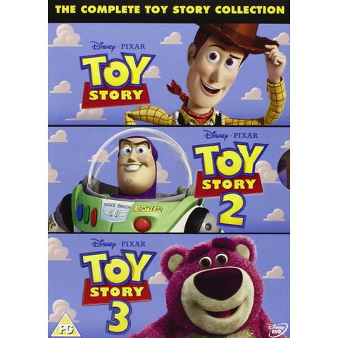 Disney Pixar's Toy Story 1-3 Collection [DVD Box Set]