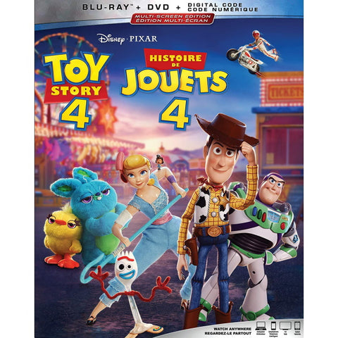 Disney Pixar's Toy Story 4 [Blu-ray + DVD + Digital]