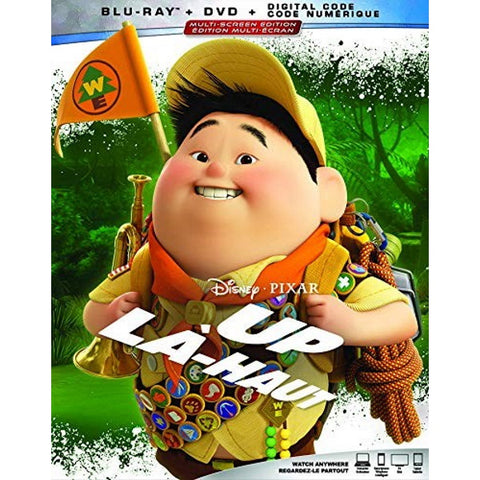 Disney Pixar's Up [Blu-ray + DVD + Digital]