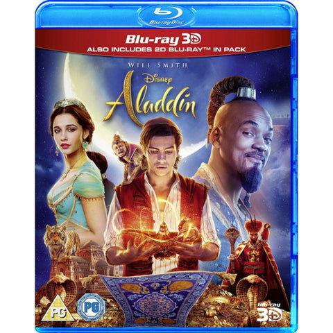 Disney's Aladdin - Live Action [3D + 2D Blu-ray]