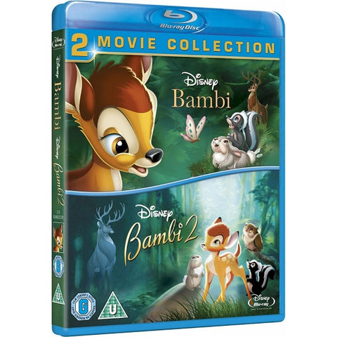 Disney's Bambi & Bambi II [Blu-Ray 2-Movie Collection]