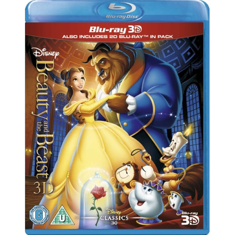 Disney's Beauty and the Beast [3D + 2D Blu-Ray]