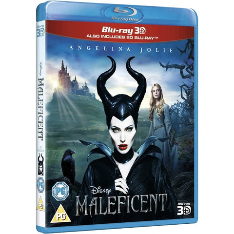 Disney's Maleficent [3D + 2D Blu-Ray]