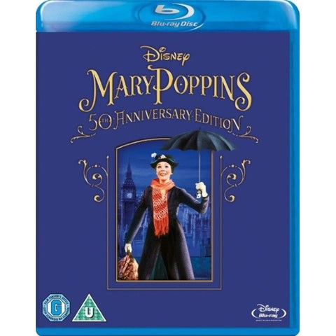 Disney's Mary Poppins - 50th Anniversary Edition [Blu-Ray]