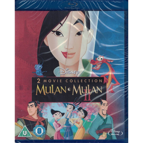 Disney's Mulan + Mulan II [Blu-Ray 2-Movie Collection]