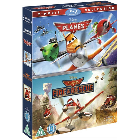 Disney's Planes + Planes 2: Fire & Rescue 2-Movie Collection [Blu-Ray Box Set]