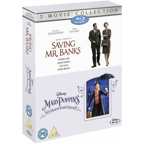 Disney's Saving Mr. Banks + Mary Poppins - 50th Anniversary Edition [Blu-Ray 2-Movie Collection]