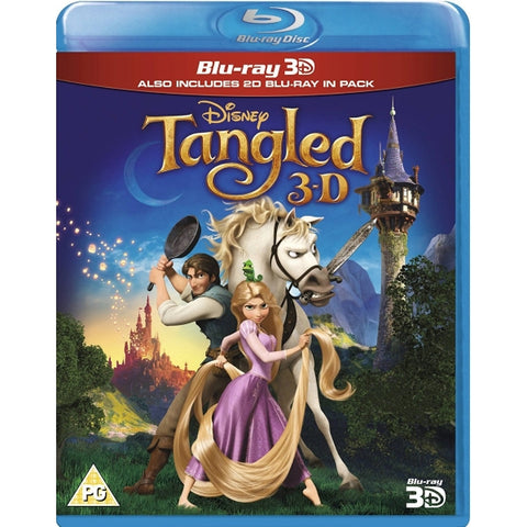 Disney's Tangled [3D + 2D Blu-Ray]