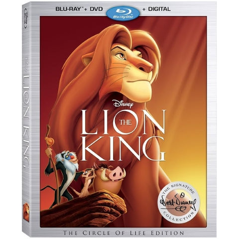 Disney's The Lion King: The Circle of Life Edition - The Walt Disney Signature Collection [Blu-Ray + DVD + Digital]
