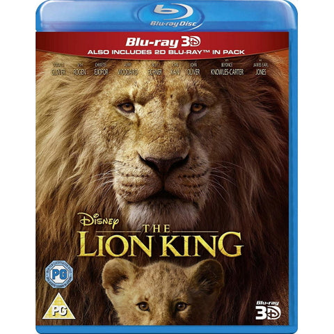 Disney's The Lion King - Live Action [3D + 2D Blu-ray]