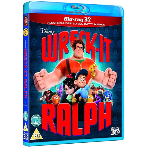Disney's Wreck-It Ralph [3D + 2D Blu-Ray]