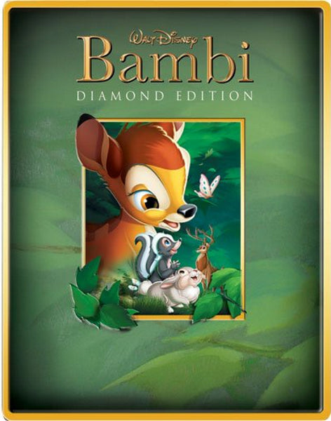 Disney's Bambi - Limited Edition SteelBook [Blu-ray + DVD]
