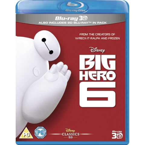 Disney's Big Hero 6 [3D + 2D Blu-ray]