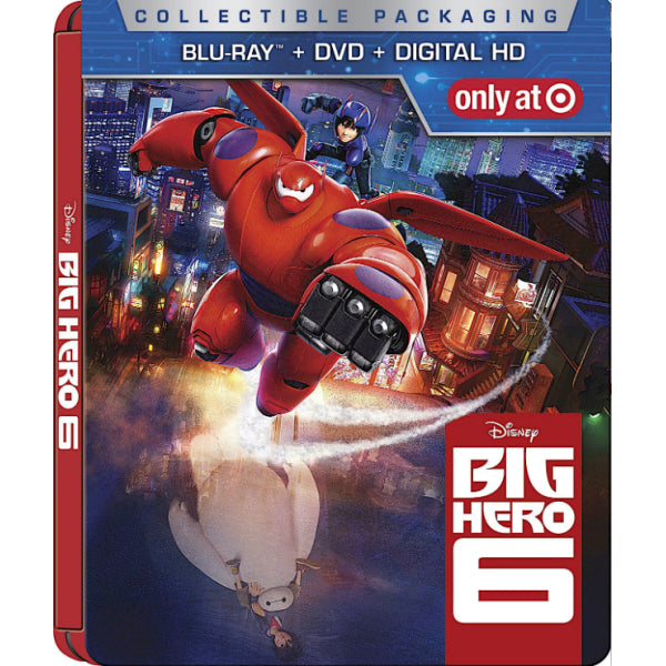Disney's Big Hero 6 - Limited Edition SteelBook [Blu-ray + DVD]