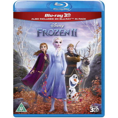 Disney's Frozen II [3D + 2D Blu-Ray]
