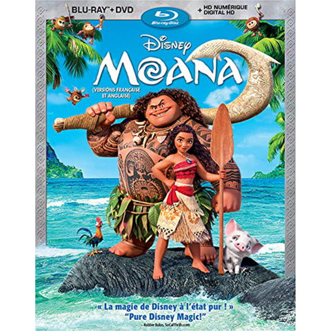 Disney's Moana [Blu-ray + DVD + Digital]