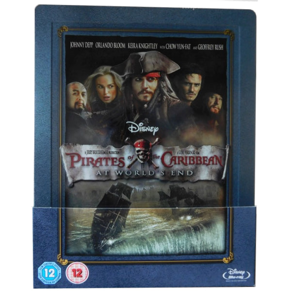 Disney's Pirates of the Caribbean: At World's End - Limited Edition SteelBook [Blu-ray]
