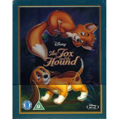 Disney's The Fox and the Hound - Limited Edition SteelBook [Blu-ray]
