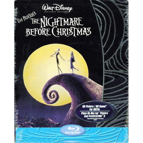 Disney's The Nightmare Before Christmas - Limited Edition SteelBook [Blu-Ray]