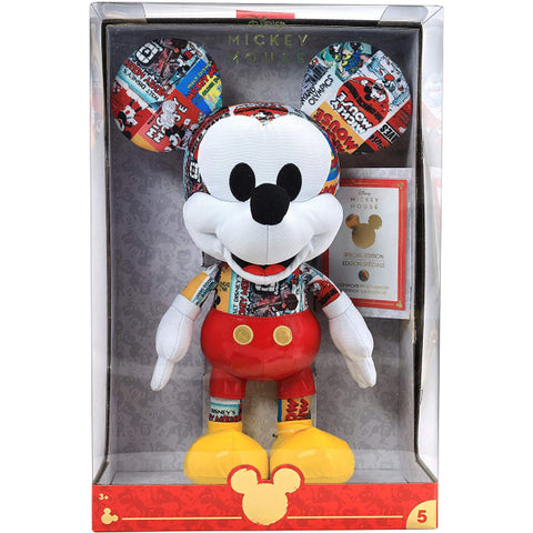 Disney Year of The Mouse Collector Plush - Movie Star Mickey Mouse [Toy, Ages 3+]