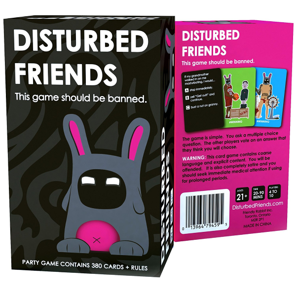 Disturbed Friends [Party Card Game, 2-10 Players]