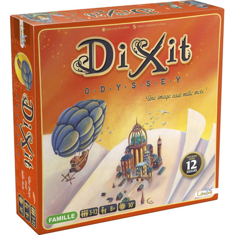 Dixit: Odyssey [Board Game, 3-12 Players]