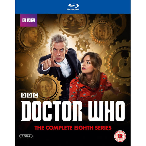 Doctor Who: The Complete Eighth Series [Blu-Ray Box Set]