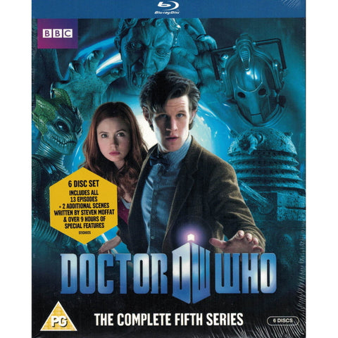 Doctor Who: The Complete Fifth Series [Blu-Ray Box Set]
