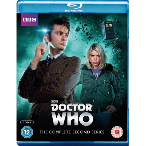 Doctor Who: The Complete Second Series [Blu-Ray Box Set]