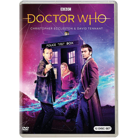 Doctor Who: The Christopher Eccleston & David Tennant Collection [DVD Box Set]