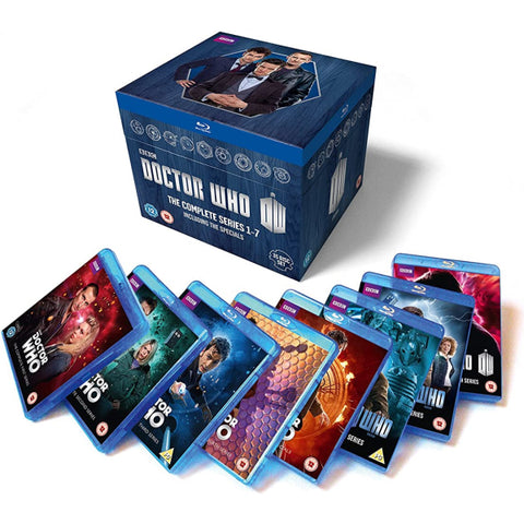 Doctor Who: The Complete Series 1-7 [Blu-Ray Box Set]