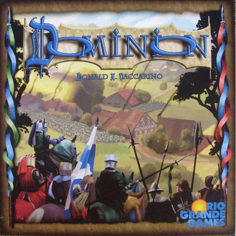 Dominion Deckbuilding Game [Card Game, 2-4 Players]