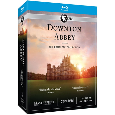 Downton Abbey: The Complete Collection - Seasons 1-6 [Blu-ray Box Set]