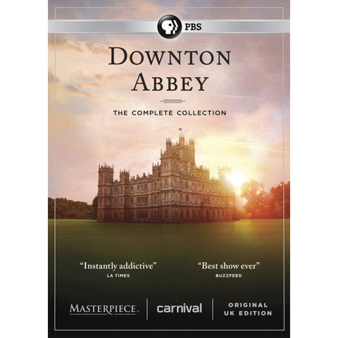 Downton Abbey: The Complete Collection - Seasons 1-6 [DVD Box Set]