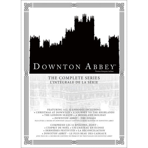 Downton Abbey: The Complete Series - Seasons 1-6 [DVD Box Set]